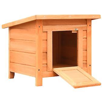 بيت القط 50 × 46 × 43.5 سم باين & ; فيروود الصلبة