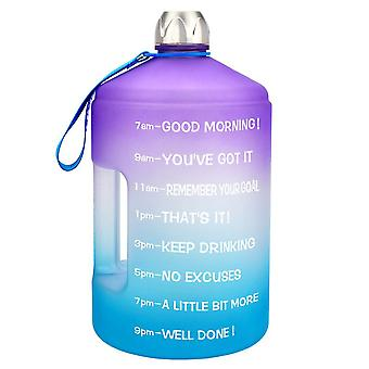 Gallon Water Bottle Large Capacity Gym Fitness Tourism