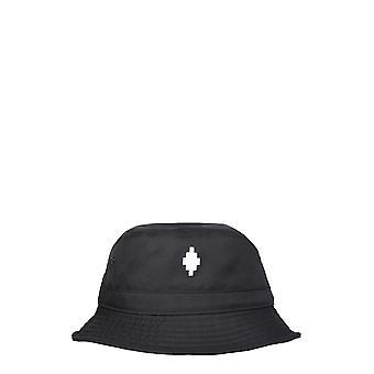 Marcelo Burlon Cmlb006r21fab0011001 Men's Black Polyester Hat