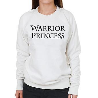 Xena Warrior Princess Text Kvinnor's Tröja