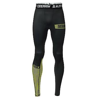 Tatami Fightwear Essential 3.0 Spats Black/Yellow