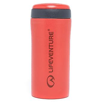 New Lifeventure Hiking Hydration Vacuum Insulated Flask Thermal Mug Red