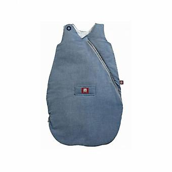 Red Castle Chambray Sleeping Bag Blue Quilted