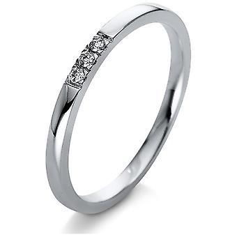 Luna Creation Leger Ring Multistone Trim 1Q779W854-1 - Largura do anel: 54