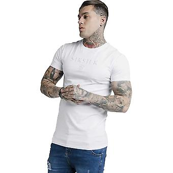 Sik Silk Astro Gym T-Shirt - White