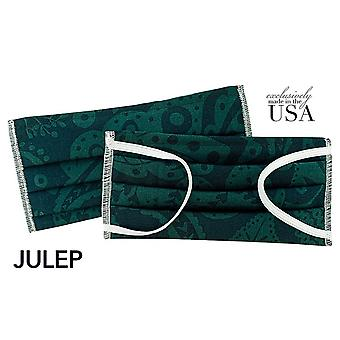 Ships Today! Face Mask Made In Usa, 2-ply Cotton- Julep