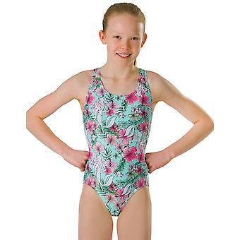 Speedo Mädchen Ausdauer Plus kleine Meerjungfrau Splashback Badeanzug