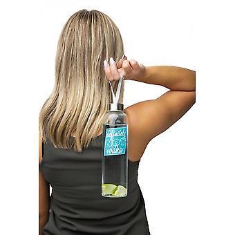 BigMouth Inc. Vodka Glass Water Bottle