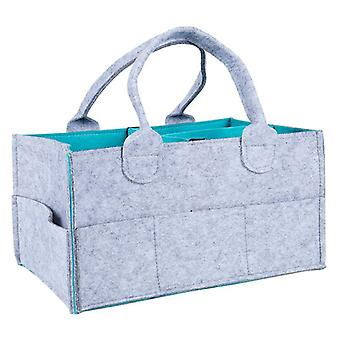 Baby Diaper, Caddy Organizer, Portable, Nursery Storage Bin, Wipes Bag,