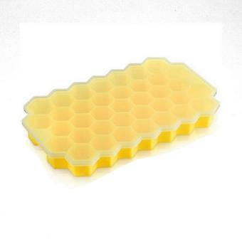 Ice Cube Maker Honeycomb Tray Food Grade Flexibele Siliconen Ice Cube Mold