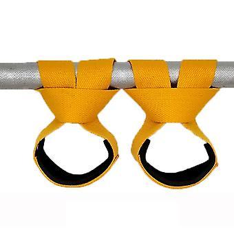 Vægtløftning hånd håndled bælte, beskyttelse Body Building Grip Strap, Brace Band