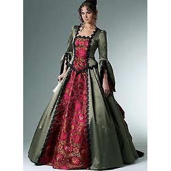 McCalls Schnittmuster 6097 Misses Damen viktorianischen Kostüm Größe 14-20 ungeschnitten