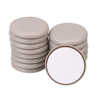 16 PCS Round 5CM Moving Furniture Carpet Sliders for Effortlessly Moving