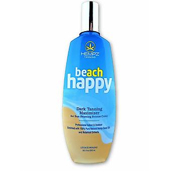 Hempz Beach Happy Hemp Enriched Dark Maximizer Indoor/Outdoor Tanning Lotion