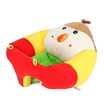 Children's Cartoon Sofa Baby Learning Seat Infant Toddler Support Seat.