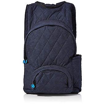 MorikukkoMorikukko Hooded Backpack Quilted Fur TrimmedUnisex - AdultZainiMulticolore (Quilted Fur Trimmed)33x8x40 Centimeters Ref. 8682328760495
