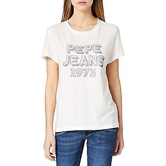Pepe Jeans Bibiana T-Shirt, 803off White, XS Woman