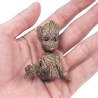 Movie Character Mini Decoration Model Cute Groot Figurines Toys