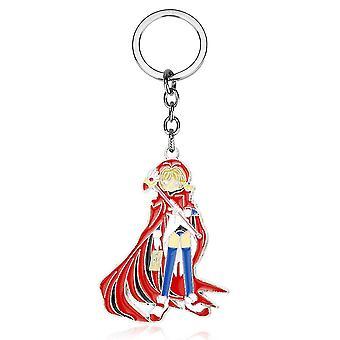 Cardcaptor Sakura Cartoon Kinomoto Sakura Star Rod Vogel Kopf Schlüsselanhänger Schlüsselanhänger Tasche Anhänger