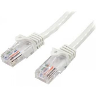 StarTech 45PAT5MWH 5m Cat5e U/UTP (UTP) Biały kabel sieciowy
