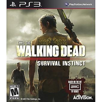 The Walking Dead Survival Instinct Game PS3 (#)