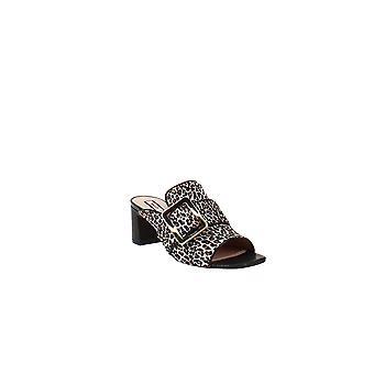Bally   Janaya Leopard Calf Block-Heel Slide Sandals