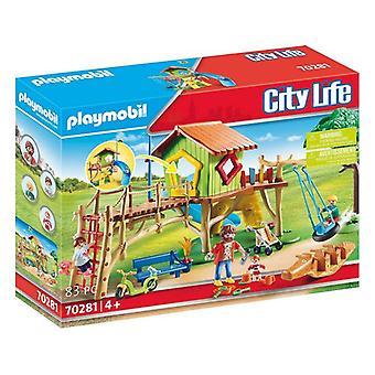 Speelset City Life Adventure Playground Playmobil 70281 (83 stuks)