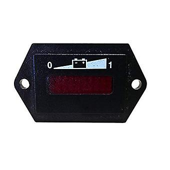 48v led batterij opladen indicator meter