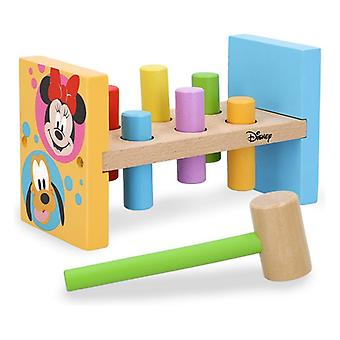 Wooden Game Disney Baby Hammer (8 pcs)