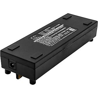 Battery for Mackie J22622 FreePlay Portable PA system 5mm dc charge port 5200mAh