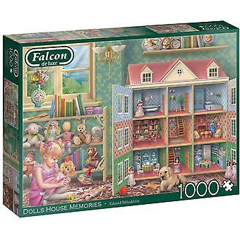 Jumbo 11276 Falcon  Dolls House Memories 1000 Piece Jigsaw