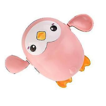 Sarjakuva Kylpy Eläin pingviini valas Vauvan vesi lelu, Pojat tytöt kylpevät leluja (vaaleanpunainen)