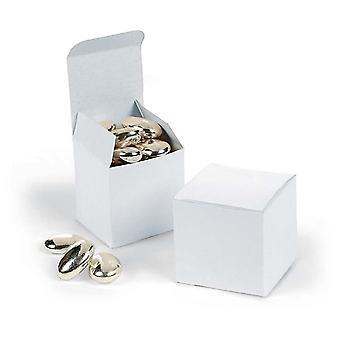 24 Mini White 5cm Gift Boxes   Cardboard Gift Boxes