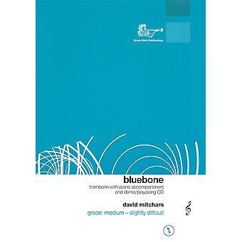 Blue Bone Treble Clef Trombone/Piano