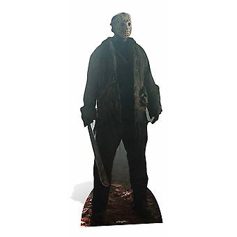 Jason Voorhees Friday the 13th Cardboard Cutout / Standee / Stand Up