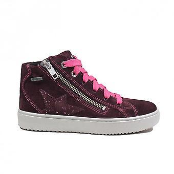 Superfit Heaven 006499 Röd / Rosa Mocka Läder Flickor Sneaker Stövlar