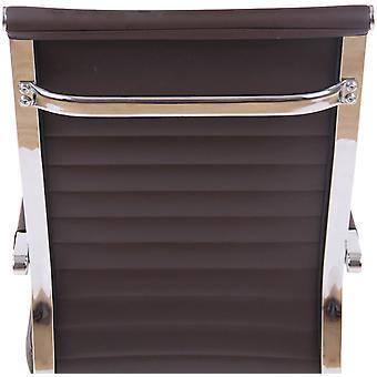 Toimistotuoli - Työpöytätuoli - Kotitoimisto - Moderni - Ruskea - Metalli - 51 cm x 63 cm x 98 cm