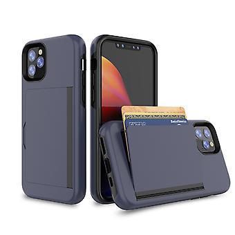 Laivaston sininen kotelo Iphone Xs: lle