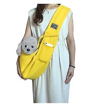 Pet Cotton Плечо Регулируемая сумка