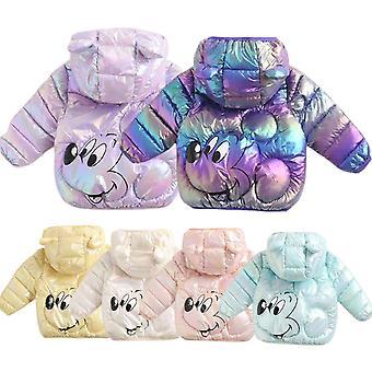 Veste Disney d'hiver pour filles Veste pour enfants Léger En du bas Bright Minnie Veste pour enfants