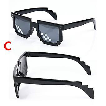 Funny Sunglass Thug Life Glasses 8 Bit Pixelated Unisex Sunglasses