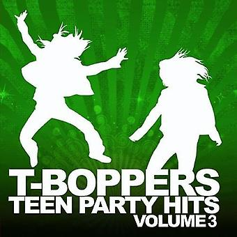 T-Boppers-T-Boppers: Vol. 3-Teen Hits Party [CD] USA import