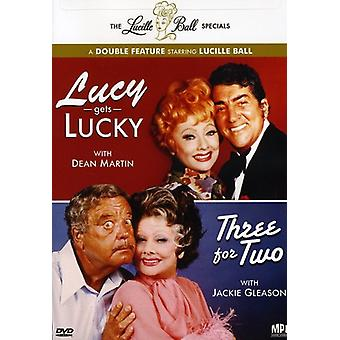 Lucille Ball Specials - Lucille Ball Specials: Lucy blir Lucky/Three för två [DVD] USA import