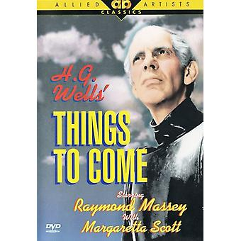 Things to Come [DVD] USA import