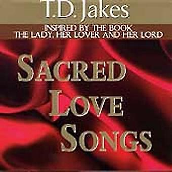 T.D. Jakes - T.D. Jakes : Importation Vol. 1 : Sacred Love Songs [CD] é.-u.