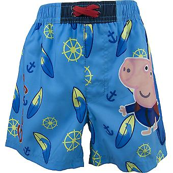 George Peppa Pig boys swim trunks / swim shorts