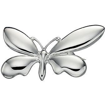 925 zilveren vlinder broche