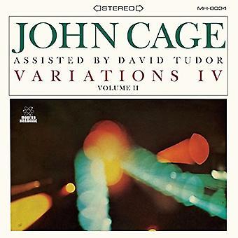 Cage, John / Tudor, David - Variations IV: Vol 2 [Vinyl] USA import