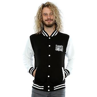Suicide Squad Men's Harley Quinn Icon Varsity Jacket