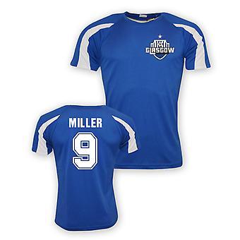 Kenny Miller Rangers sport opleiding Jersey (blauw)